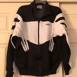Adidas women's black jacket